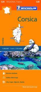 mapa regional corsica / corse 9782067211865