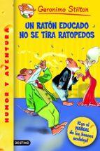 un raton educado no se tira ratopedos-geronimo stilton-9788408060765