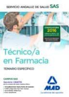 tecnico en farmacia del servicio andaluz de salud: temario especifico-9788414200865