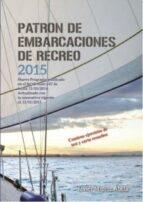 patron de embarcaciones de recreo 2015 javier muñoz 9788416063765