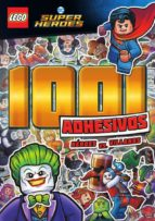 lego dc comics super heroes: 1001 adhesivos héroes vs. villanos 9788417243265