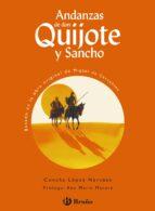 andanzas de don quijote y sancho-concha lopez narvaez-9788421693865