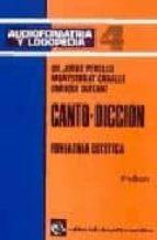 canto-diccion: audiofoniatria y logopedia (t.4) (2ª ed.)-9788422406365