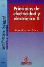 principios de electricidad y electronica ii antonio hermosa donate 9788426712165