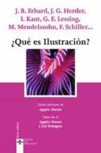 ¿que es ilustracion?-9788430944965
