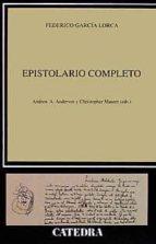 epistolario completo-federico garcia lorca-9788437615165
