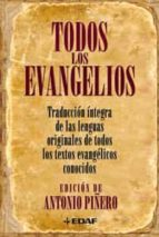 todos los evangelios-antonio piñero-9788441421165