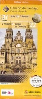 camino de santiago. hoja 10. desde arzúa a santiago de compostela (1:50.000)-9788441615465