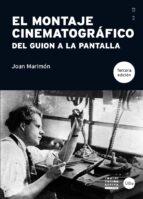 el montaje cinematográfico-joan marimon padrosa-9788447538065