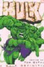hulk: la guia definitiva tom de falco 9788466612265