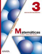 matematicas 3. trimestres-9788466713665