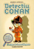 detectiu conan 1: l origen de conan edogawa-gosho aoyama-9788467411065