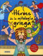 heroes de la mitologia griega para colorear y pegar-9788467760965