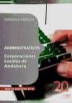 ADMINISTRATIVOS CORPORACIONES LOCALES DE ANDALUCIA. SUPUESTOS PRA CTICOS