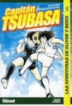 capitan tsubasa nº 5: la aventuras de oliver y benji-yoichi takahashi-9788484494065