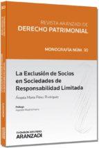 revista aranzadi de derecho patrimonial angela maria perez rodriguez 9788490146965