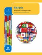 El libro de Historia del mundo contemporáneo 1º bachillerato autor VV.AA. EPUB!