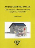 autoconsumo solar antonio madrid vicente 9788494439865