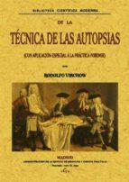 tecnicas de las autopsias (ed. facsimil)-9788495636065