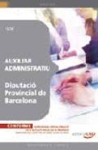 auxiliar administratiu diputacio provincial de barcelona test-9788499247465