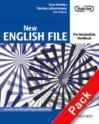 new english file pre intermediate: workbook with key and multirom pack (incluye cd r0m) clive oxenden 9780194387675