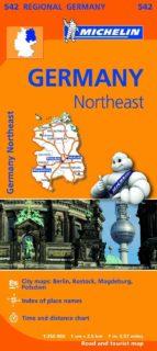 El libro de Mapa regional germany northeast autor VV.AA. DOC!
