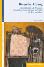 betender anfang (ebook)-nina frenzel-9783657785575