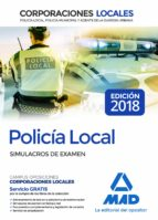 policia local: simulacros de examen 9788414215975