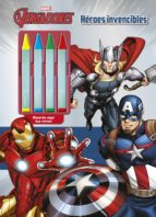 los vengadores: heroes invencibles: colorear con ceras-9788415343875