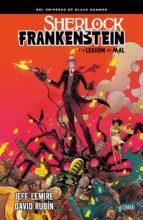 sherlock frankenstein y la legion del mal-jeff lemire-david rubin-9788416880775