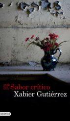sabor critico xabier gutierrez 9788423352975