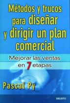 metodos y trucos para diseñar y dirigir un plan comercial pascal py 9788423424375