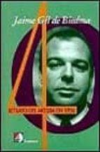 el retrato del artista 1956 jaime gil de biedma 9788426401175