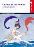 la rosa de los vientos, antologia poetica, educacion primaria. ma terial auxiliar 9788431655075