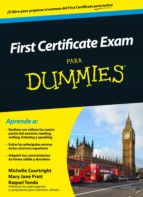 first certificate exam para dummies michelle courtright mary jane pratt 9788432902475