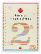 numeros y operaciones 2: cuaderno (1º educacion primaria) carmen sanchez viñambres 9788434897175