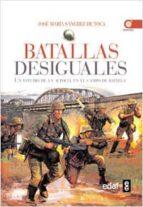 (pe) batallas desiguales: un estudio en el campo de batalla jose maria sanchez de toca 9788441428775