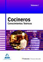 cocineros: temario general conocimientos teoricos. volumen i 9788467620375