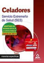 celadores del servicio extremeño de salud (ses). test materias especificas-9788467664775