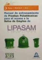 manual de entrenamiento de pruebas psicotécnicas para el acceso a la bolsa de empleo de lipasam-9788467694475