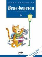 bene benetan euskara 6 (lehen hezkuntza) 9788481471175