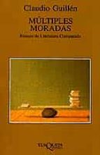 multiples moradas: ensayo de literatura comparada claudio guillen 9788483106075