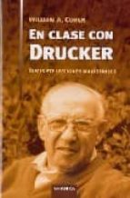 en clase con drucker: diecisiete lecciones magistrales william a. cohen 9788483580875
