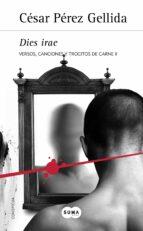 dies irae (trilogia versos, canciones y trocitos de carne 2)-cesar perez gellida-9788483655375
