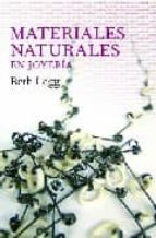 materiales naturales en joyeria beth legg 9788493588175