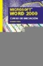 word 2000: curso de iniciacion rosario peña 9788495318275