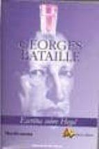 escritos sobre hegel georges bataille 9788495897275
