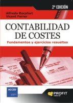 contabilidad de costes: fundamentos y ejercicios resueltos vicent ferrer 9788496998575