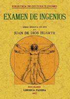 examen de ingenios (ed. facsimil)-juan de dios huarte-9788497614375