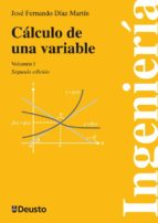 calculo de una variable 2vol. jose fernando diaz martin 9788498303575